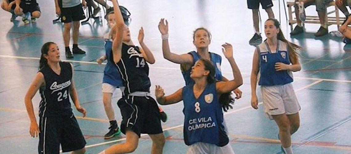 girls basketball training is Tamara's strength